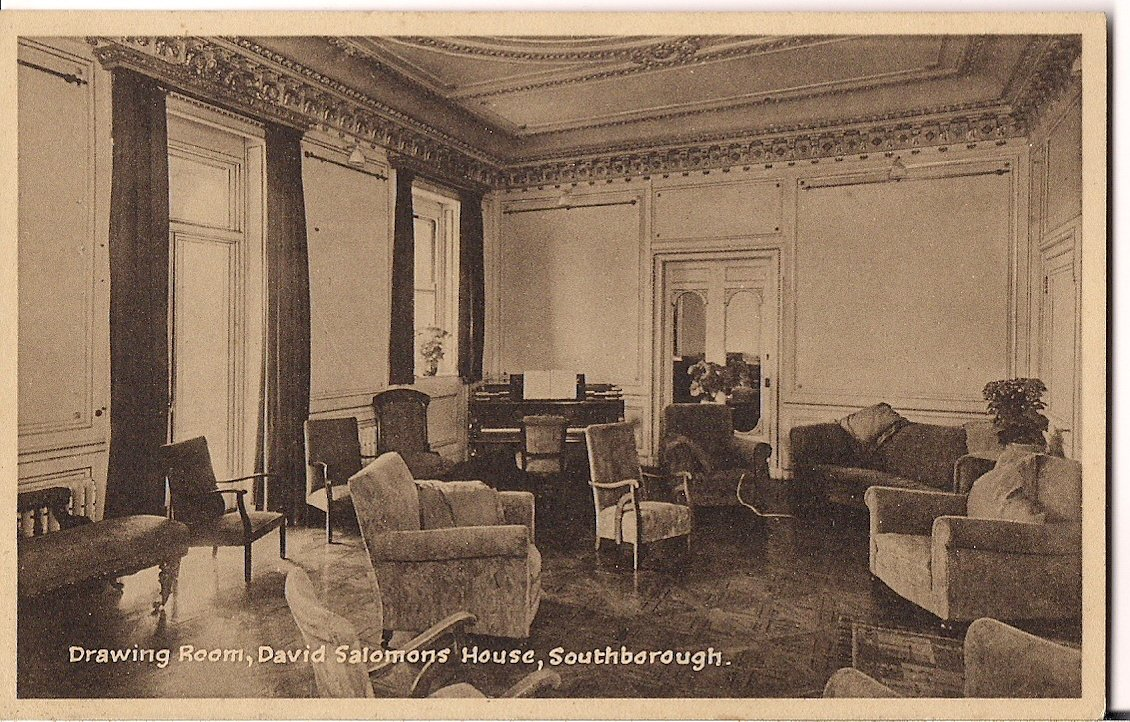 DAVID SALOMONS HOUSE DRAWING ROOM,SOUTHBOROUGH Published by Lofthouse ,Crosbie & Co.,Hampton, Middx.