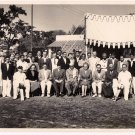 Picture 1955 autographed Ist President Dr Rajendra Prasad - BRITISH HIGH COMMISSION CRICKET TEAM