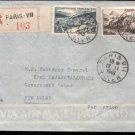 Regd Airmail Paris To Gov Gen  C Rajagopalachari New Delhi 1949