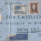 1946 Cover Sumatra Muslim Association Addressed to Viceroy of India New Delhi