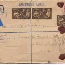 1949 Regd Bexhill on Sea Universal Postal Union Gov General Camp PO New Delhi