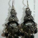 great pair of black chandelier earrings