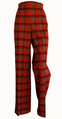Vintage Orange & Brown  trousers