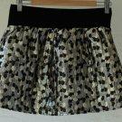 A Line Metallic mini-skirt