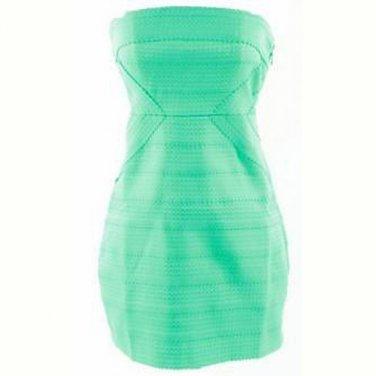Bodycon mint/ aqua dress (S)