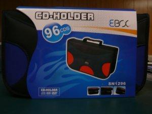 Eboc 96 CD/DVD Zippered Nylon Carry Case