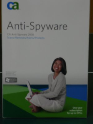 CA� Anti-Spyware Home Protection Pack 2008, 3 Users