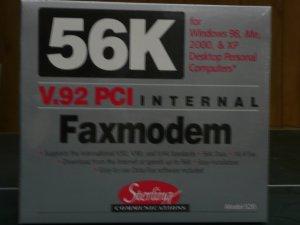 Sterling V.92 PCI 56K Softmodem S20
