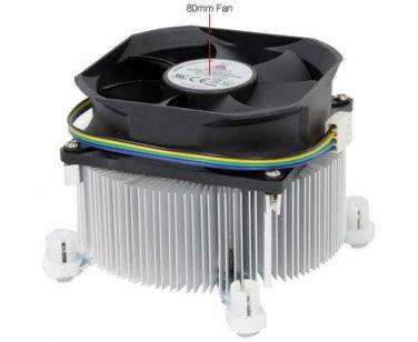GlacialTech Igloo 1100 CPU Cooler - 80mm, 4 Pin, 3600RPM, Copper Heatsink, (1100 PWM (E))