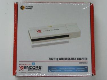 ENCORE ENUWI-G2 Wireless Adapter IEEE 802.11b/g USB 2.0 Up to 54Mbps Wireless Data Rates WPA2
