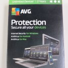 AVG Protection 2017 Unlimited Devices - 2 Years