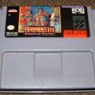 SNES -- Romance of the Three Kingdoms III -- Rare RPG!