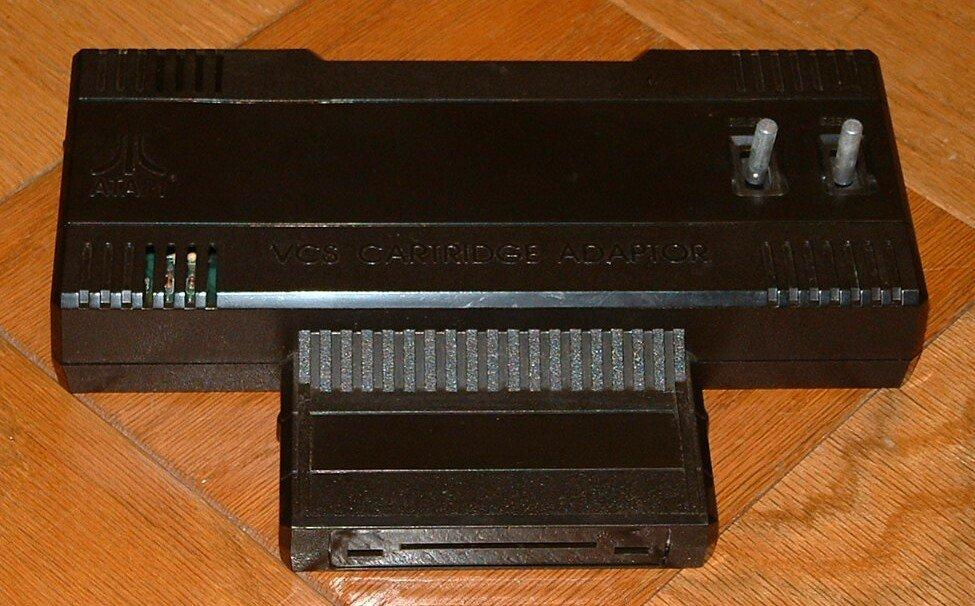 Atari 5200 - 2600 adapter - expansion module