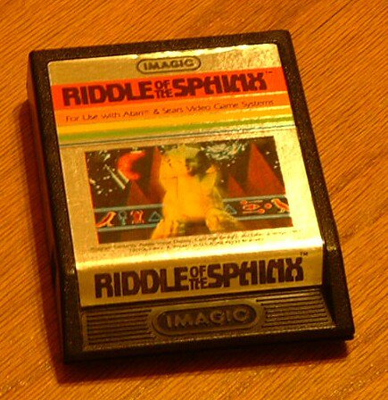 ATARI 2600 - RIDDLE OF THE SPHINX