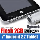 7 inch Tablet PC Android 2.2 VIA 8650 Camera Flash 10.1 3G WiFi  Epad