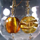 Amber Earrings Handcrafted