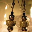 Faux Stone Earrings Handcrafted