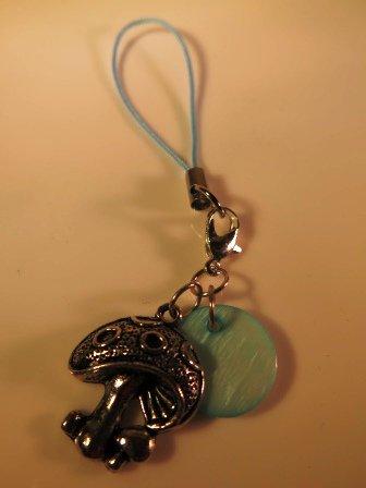 Cell Phone iPod Purse Backpack Jewelry Mushroom