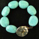 Vintage Chaps Turquoise Bracelet