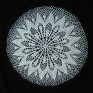 Crocus Crochet Doily Handcrafted New