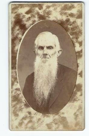 Antique Carte de Visite CDV Photograph Elderly Man