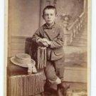 Antique Carte de Visite CDV Photograph Standing Boy