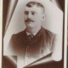 Antique Cabinet Card Photograph Man Erie PA