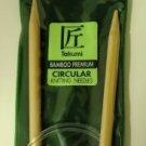 "Clover Circular Bamboo Knitting Needles No 11 NIP 29"""