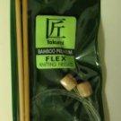 "Clover Flex Bamboo Knitting Needles No 6 NIP 20"""