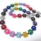 Handcrafted Daisy Rainbow Necklace