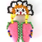 Native American Seed Bead Moccasin Pin