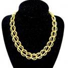 Napier Gold Tone Link Chain Necklace