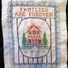 Vintage Families Embroidered Sampler Cross Stitch