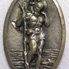 Vintage St Christopher Protect Us Medal