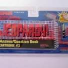 Tiger Jeopardy Answer Question Book Cartridge 2