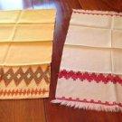 Vintage Huck Kitchen Towels