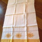 Gold Trimmed Kitchen Towel Vintage