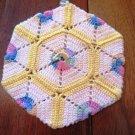 Crochet Pot Holder Center Loop