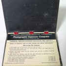 American Emergency Standard Photographic Exposure Computer