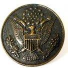 WWII Pluribus Unum Brass Officers Hat Pin