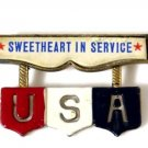 WWII Sweetheart in Service Pin