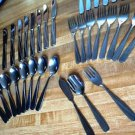 Vintage Stainless Tableware Made in Japan 40 PCS