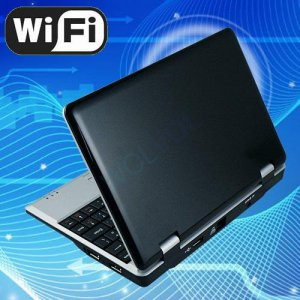 Black Android Tablet 7inch Laptop Netbook Installed WiFi 4gb/256mb (Pouch Case, Charger, Mouse)