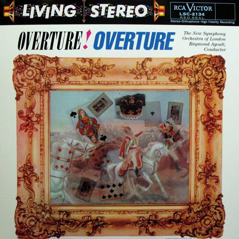 OVERTURE! OVERTURE! Agoult VON SUPP� RCA/Classic LSC-2134 (NM/NM) 180g LP