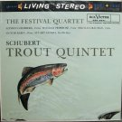 SCHUBERT Trout Quintet FESTIVAL QUARTET RCA/Classic LSC-2147 NEW & SEALED 180g LP