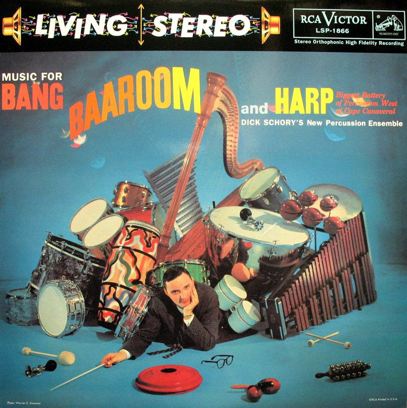 DICK SCHORY Music For Bang Baaroom and Harp RCA/Classic LSP-1866 New & Sealed 180 gram Vinyl LP