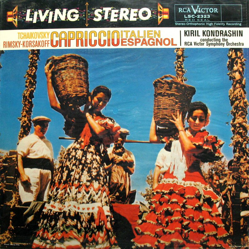 TCHAIKOVSKY Capriccio Italien RIMSKY-KORSAKOFF RCA/Classic LSC-2323 NEW & SEALED 180g LP