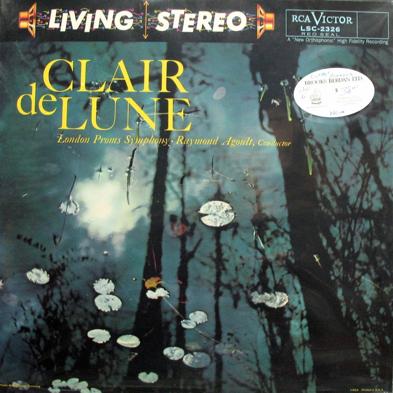 CLAIR de LUNE Agoult KENNETH WILKINSON RCA/Classic LSC-2326 NEW & SEALED 180g LP