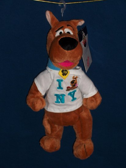 New York Scooby Doo Bean Bag from WB Studio Store FREE SHIPPING