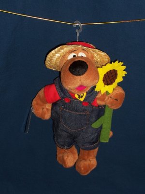 Sunflower / Farmer Scooby Doo Bean Bag from WB Studio Store FREE SHIPPING